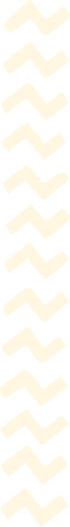 a series of zig zag lines bordering the right hand margin